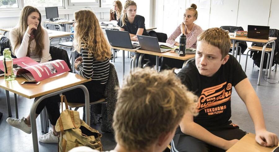 Eleverne på Vestegnens Privatskole er blevet langt bedre til at sætte kommaer i løbet af de senere år.