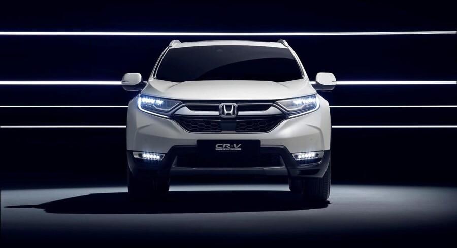 Når den nye udgave af Honda CR-V lanceres i Danmark i 2018, bliver det uden dieselmotor - kunderne skal i stedet køre hybrid
