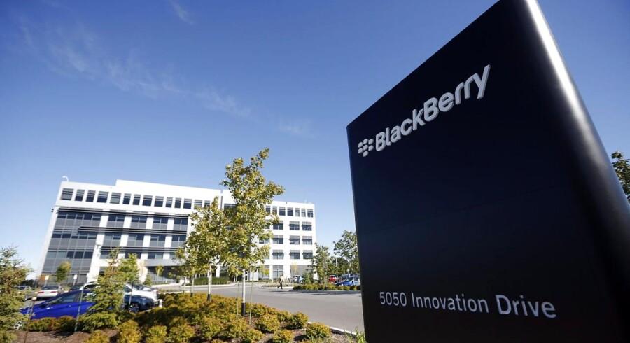Blackberrys topchef, Thorsten Heins, fik i maj en ny kontrakt med en bedre fratrædelsesordning. Arkivfoto: Stephen Morrison, EPA/Scanpix