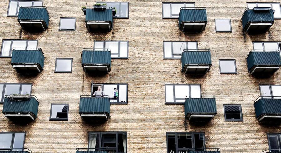 Ifølge statistikindsamleren steg prisen på ejerlejligheder med 1,3 procent i marts. Og kigger man på de tre måneder til og med marts er prisstigningen på 3,2 procent