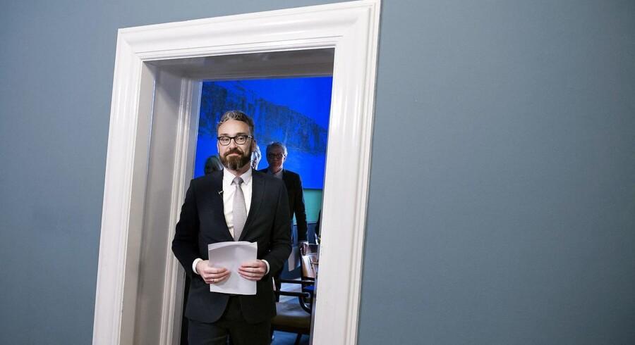 ARKIVFOTO. Transportminister Ole Birk Olesen (LA).