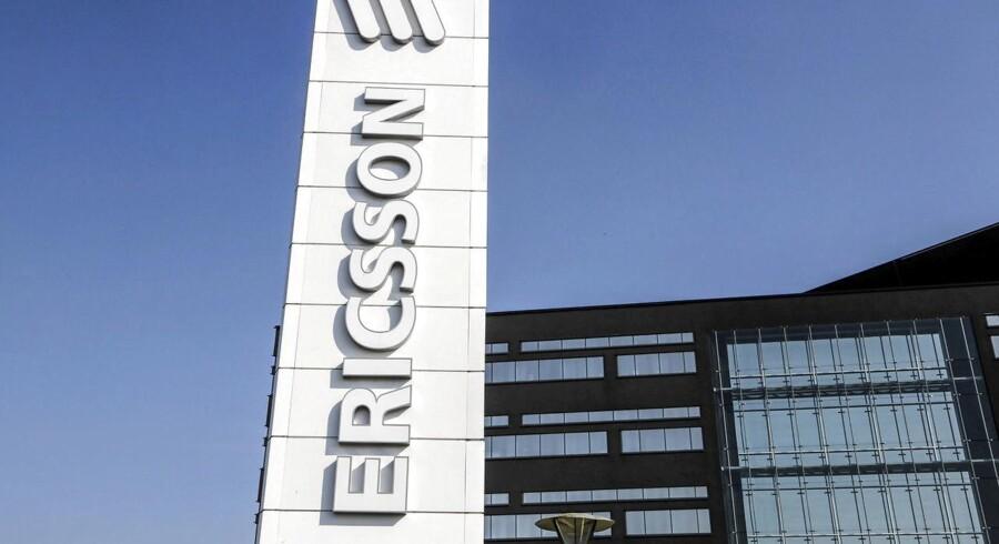 Nedturen fortsætter - om end i mindre omfang - for den svenske mobilgigant Ericsson torsdag. Arkivfoto: Stig-Åke Jönsson, TT/Reuters/Scanpix