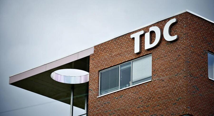 Arkivfoto. 1,85 millioner kunder ved selskabet TDC var mandag ramt af nedbrud. Nu er fejlen fundet. oplyser koncernchef.