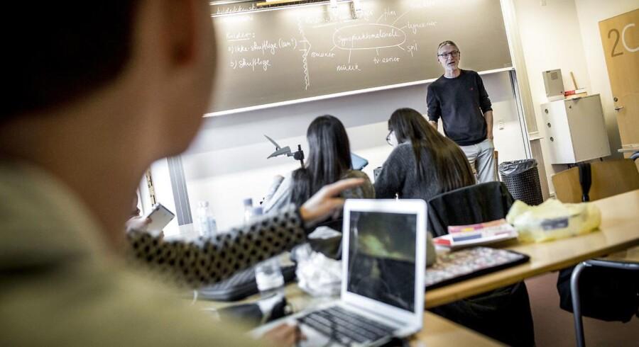 Gymnasiet er stadig det mest populære valg blandt de unge.