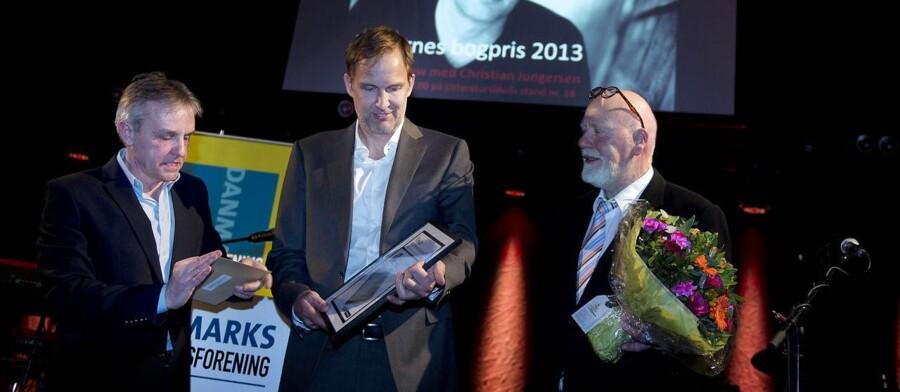 Christian Jungersen vinder Berlingskes Bogpris.
