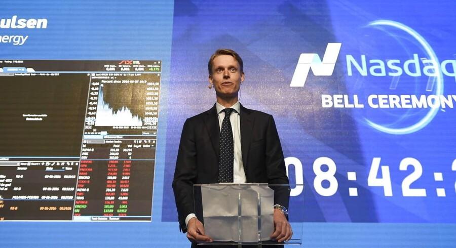Henrik Poulsen, administrerende direktør i DONG, har netop sendt energiselskabet på børsen.