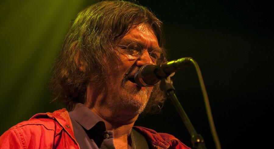 Johnny Madsen på Bork Havn Musikfestival i august. Foto: Mads Dalegaard