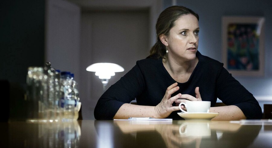 Var juristerne i i Justitsministeriet med til at erklære VK-regeringens to-årige optjeningsprincip på børnefamilieydelser ulovligt eller var de ikke? Det spørgsmål vil Karen Hækkerups ministerium ikke besvare. Foto: Liselotte Sabroe