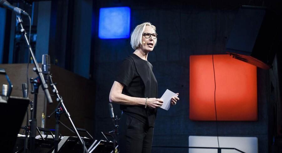 Her er det generaldirektør for DR Maria Rørbye Rønn