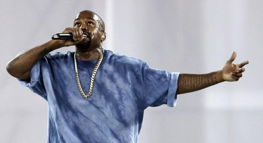 Musiker, kunstner- og tøjdesigneren Kanye West.