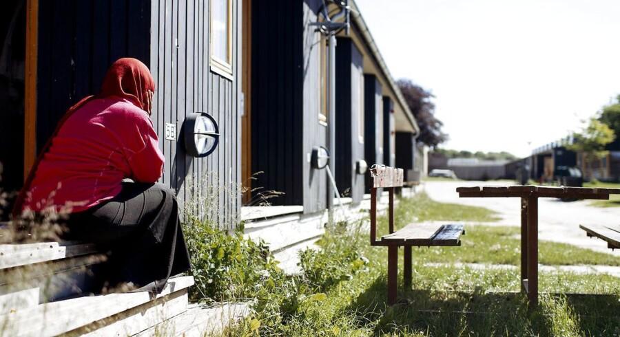 (ARKIV) Aylcenter i Sandholmlejren 1. december 2010. (Foto: Bax Lindhardt/Scanpix 2017)