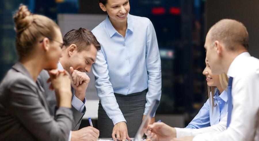Mænd tjener i stigende grad mere end kvinder på det private arbejdsmarked, men sådan er det ikke blandt de statsansatte. De kvindelige medlemmer af HK Stat, som er fagforening for kontorfunktionærer, laboranter og it-medarbejdere i staten, har lønmæssigt overhalet mændene. Foto: Iris.
