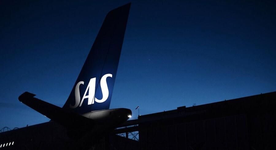 Arkivfoto. SAS giver et underskud på 556 millioner svenske kroner i første kvartal