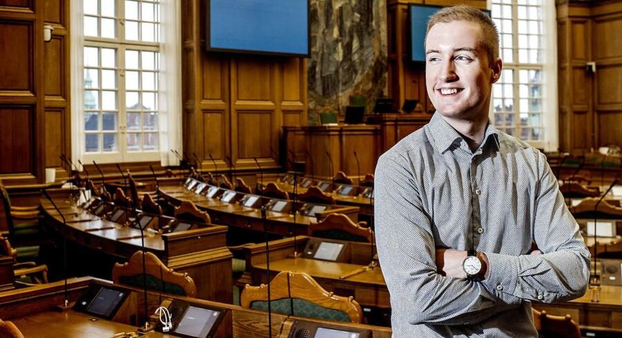 Uddannelsesordfører Jacob Mark (SF) (Foto: Bax Lindhardt/ Scanpix).