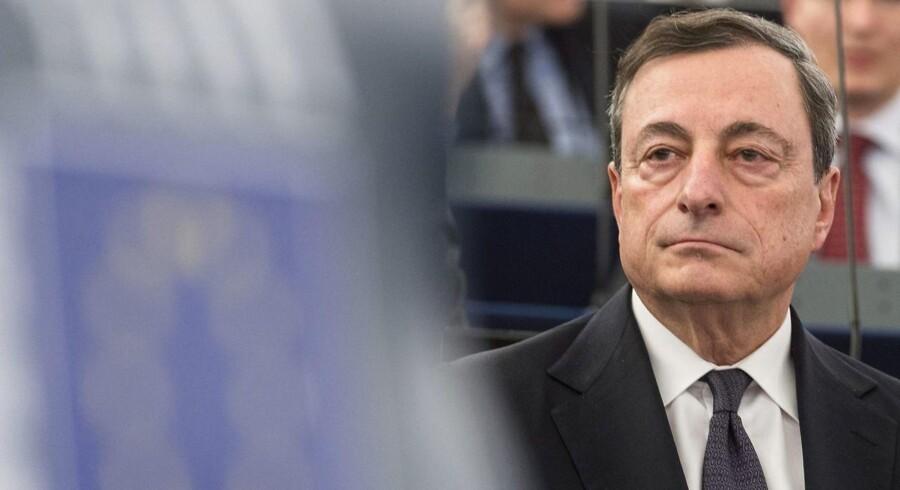 Mario Draghi. ARKIVFOTO
