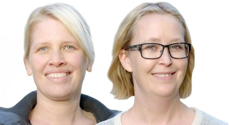 Maria Dressler, psykolog, og Camilla Obel, lærer, begge projektledere på Diamantforløbene, diamantforlobet.dk