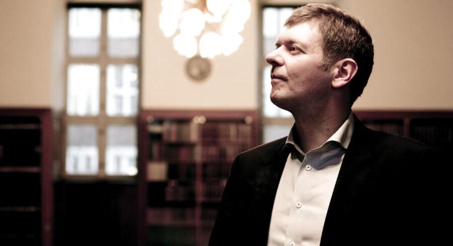 Direktør Jannick Nytoft for DVCA. Danish Venture Capital and Private Equity Association.