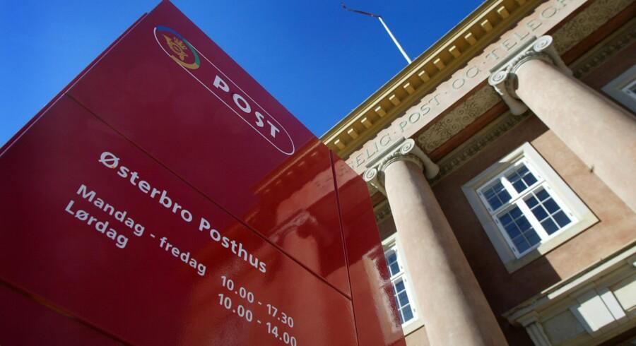Østerbro Posthus i København er et af de fire tilbageværende »ægte« posthuse i Danmark – men snart forsvinder de også. Foto: Carl Redhead