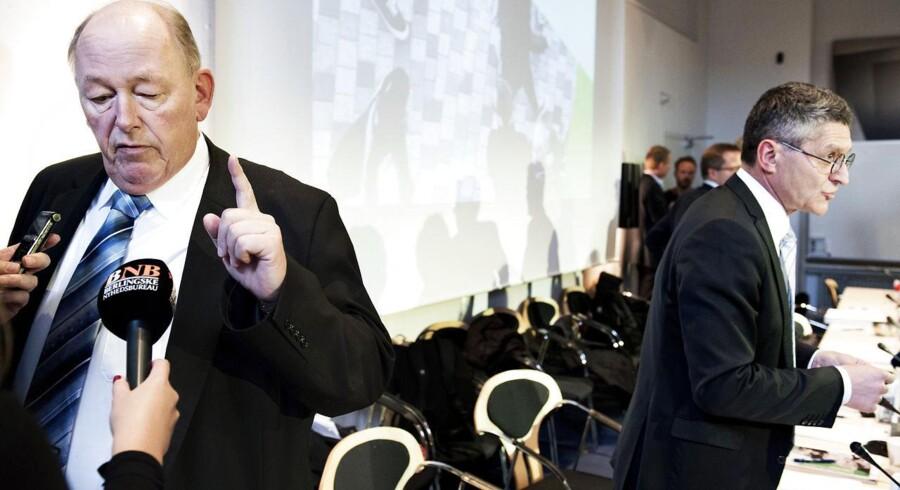 Harald Børsting var klar i mælet i går. Og ifølge landets politiske analytikere ser han ud til at få sin vilje.
