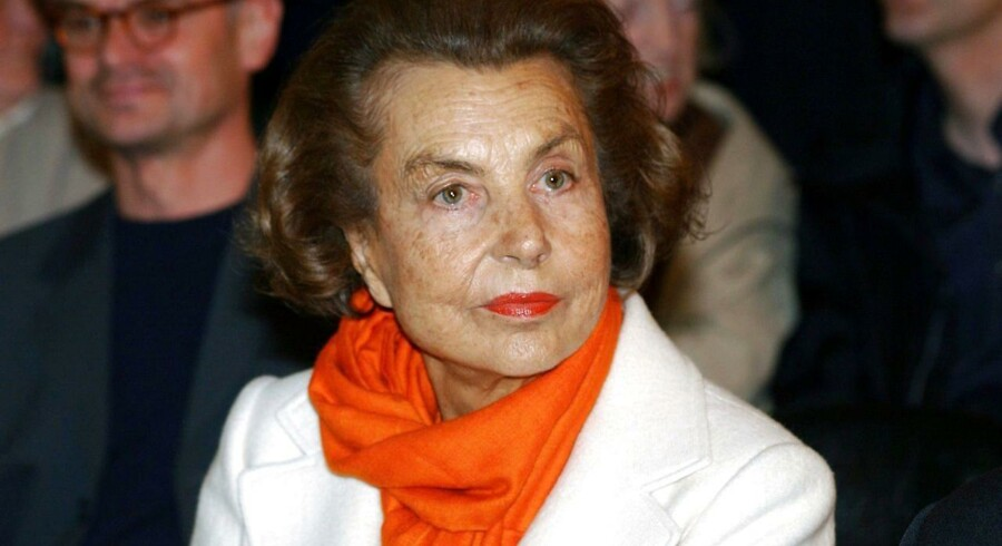 Liliane Bettencourt.