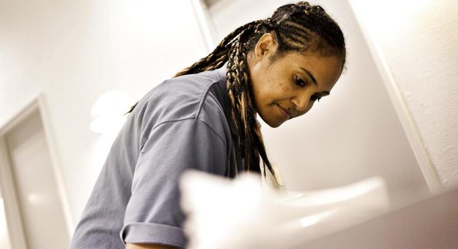 ARKIVFOTO: Ghenet fra Eritrea har arbejdet mange år som rengøringsassistent for ISS i Glostrup.