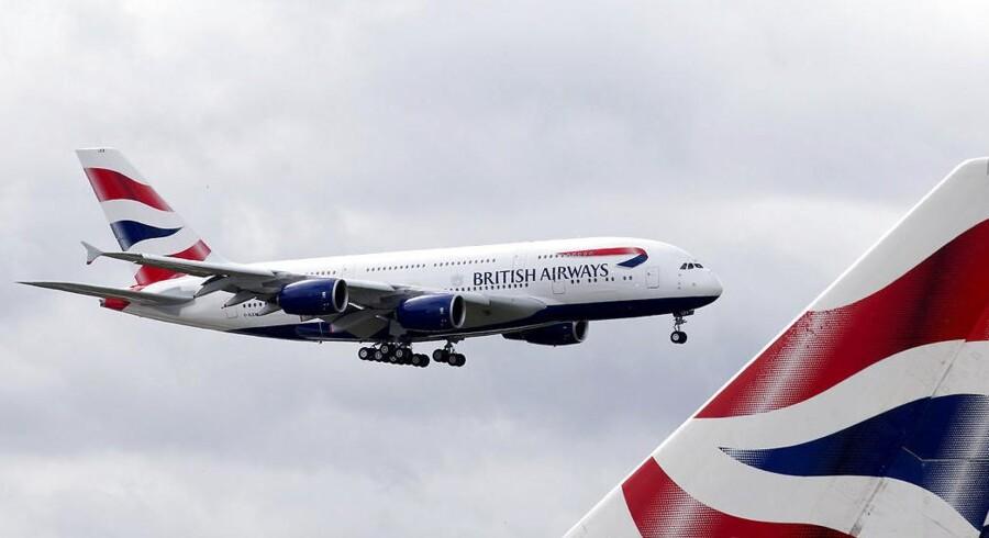 Arkivfoto. International Airlines Group, IAG, der ejer British Airways, Iberia Air og Aer Lingus, kom ud af 2016 med en stigning i overskuddet efter to nedjusteringer i 2016.