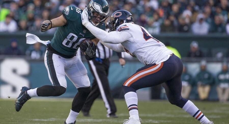Philadelphia Eagles har ikke tabt siden anden runde i årets NFL. Søndag gik det ud over Chicago Bears.