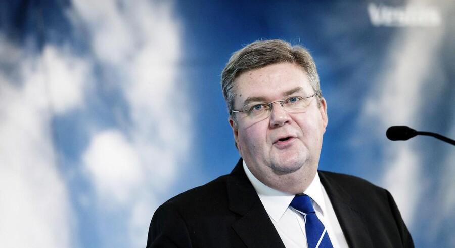Vestas' topchef Anders Runevad er flere gange blevet nævnt som en hed kandidat til stillingen som topchef i svenske Ericsson.