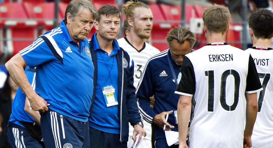 Åge Hareide har en del arbejde at gøre, før landsholdet er klar til VM-kvalen. Fredag ødslede Danmark en sejr væk mod Bosnien-Hercegovina.