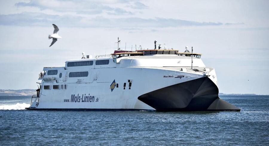 Mols-Linien havde et solidt 2015, hvor resultatet blev det bedste nogensinde. Flere passagerer hjalp tallene.