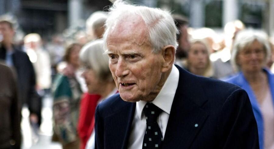 Mærsk Mc-Kinney Møller døde 16. april 2012