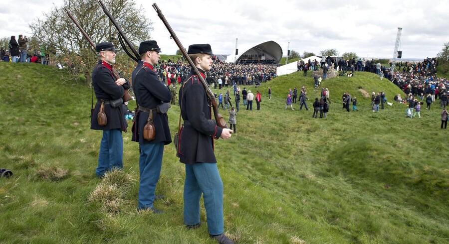 Arkivfoto: 150-året for Slaget ved Dybbøl Banke.