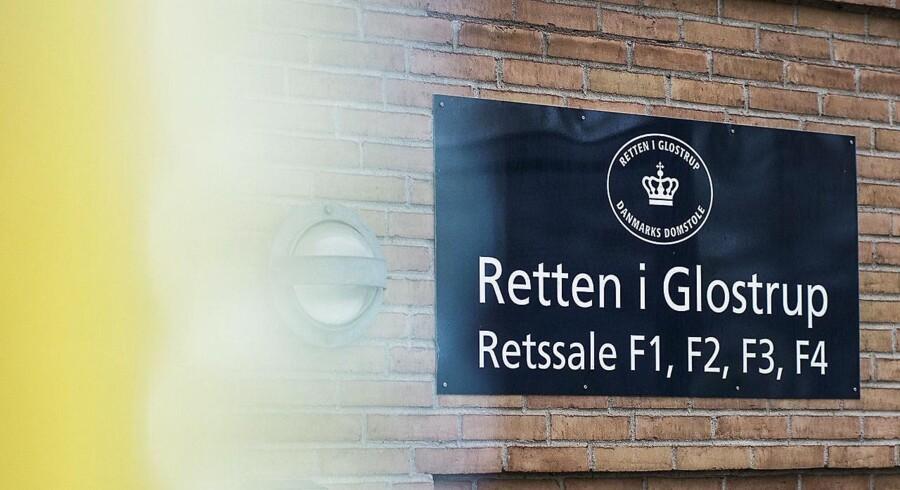 Retten i Glostrup udsætter sag om tiggeri. Sagen var den første, hvor der skulle falde dom efter ny stramning. (Foto: Ólafur Steinar Gestsson/Scanpix 2016)