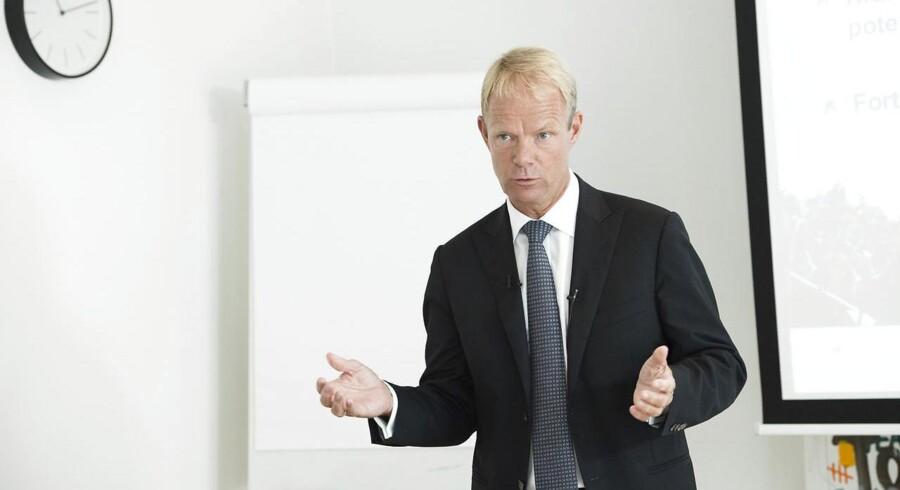 Lundbecks topchef, Kåre Schultz, kan glæde sig over, at den amerikanske lægemiddelstyrelse, FDA, har besluttet at give særstatus til Alzheimersmidlet Idalopirdin.