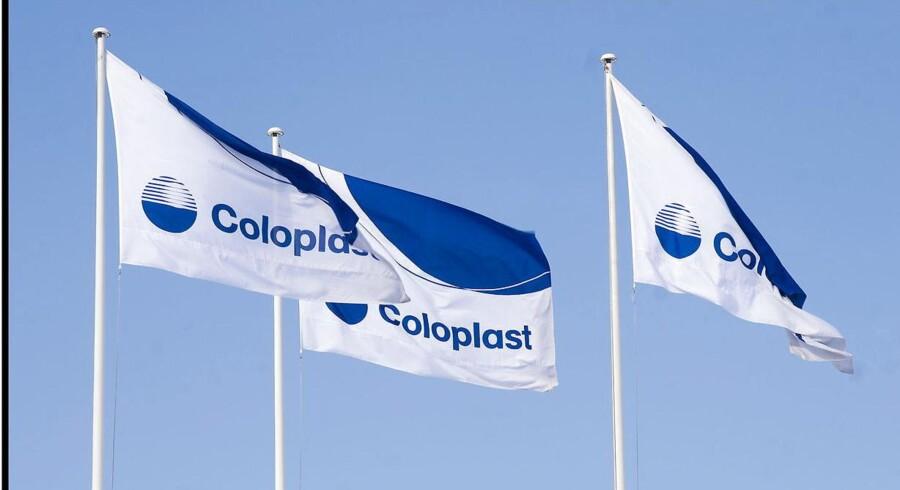 Medicoselskabet Coloplast klarer sig pænt i Europa med en vækst i selskabets seneste regnskabskvartal på otte pct.
