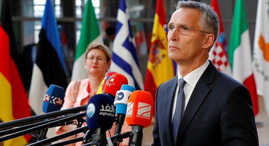 Jens Stoltenberg 28. juni. REUTERS/Yves Herman
