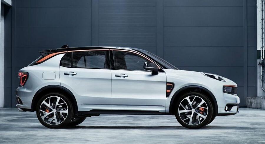 Sådan kommer Volvos nye lillesøster til at se ud: Det nye bilmærke Lynk & Co.