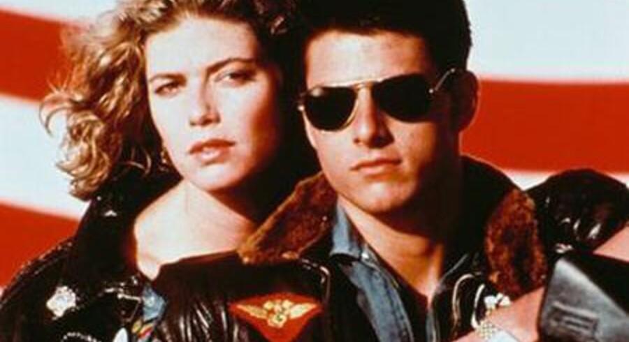 """Det er 24 år siden Tom Cruise spillede Pete """"Maverick"""" Mitchell i 80'er-hittet Top Gun. Nu skal der laves en opfølger."""