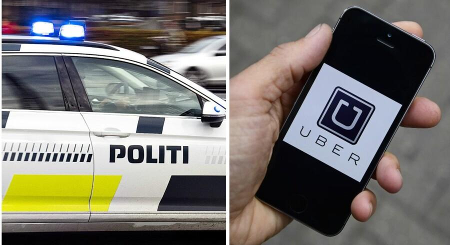 Politiet ændrer ikke sin indsats efter dom mod Uber-chauffør.