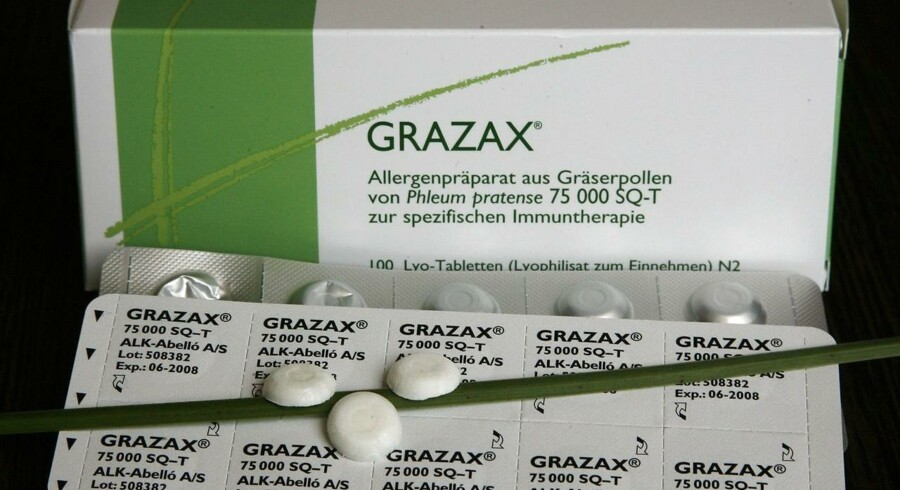 Arkivfoto: Allergimedicin.