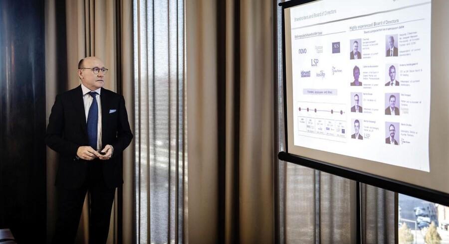 Danske Bo Jesper Hansen, er formand for bestyrelsen i Ablynx, der over to omgange har sagt pænt nej tak til Novos bud. Nu har bestyrelsen accepteret et bud fra franske Sanofi.