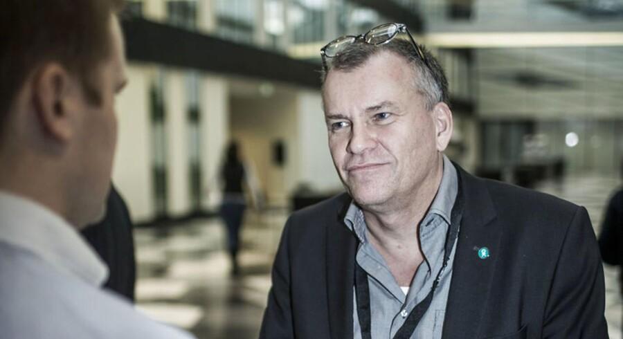 HK Privats formand Simon Tøgern. ARKIVFOTO.