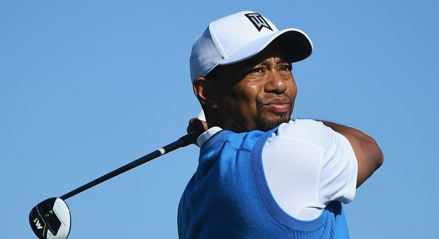 41-årige Tiger Woods er klar til at spille golf igen, og han tager i næste uge atter køllen i hånden, når han skal spille turneringen Hero World Challenge på Bahamas. Scanpix/Donald Miralle
