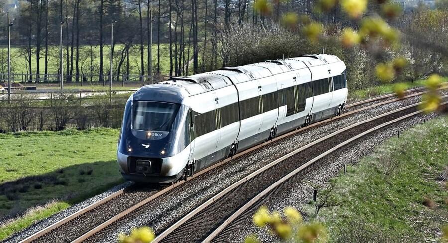 ARKIV. Udskiftning af IC4 tog. Det er besluttet, at DSB skal købe 26 nye eldrevne lokomotiver.. (Foto: Henning Bagger/Scanpix 2016)