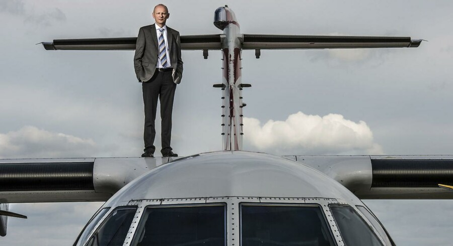 Grundlæggeren Martin Møller for Nordic Aviation Capital har verdens største flåde af mindre regionalfly.
