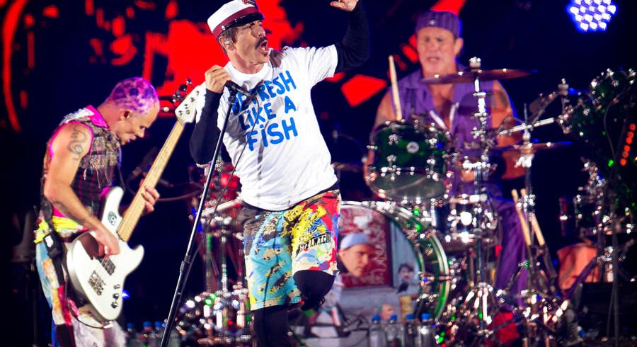 Red Hot Chili Peppers på Orange Scene.