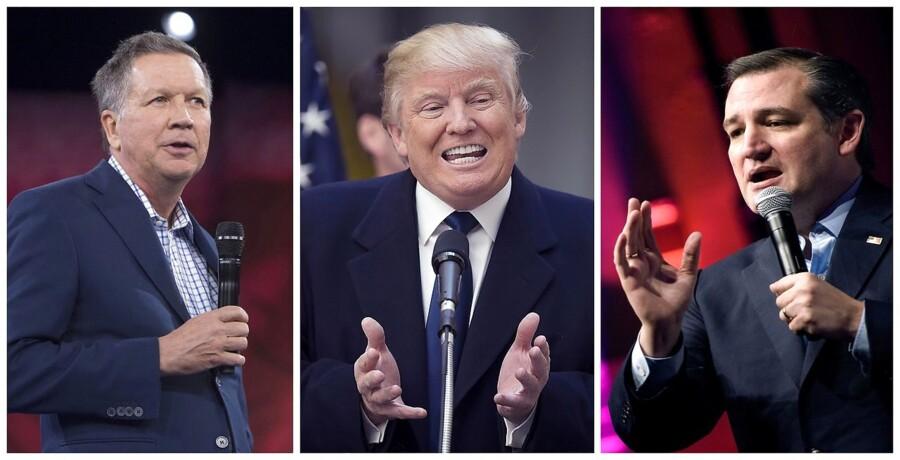 Ted Cruz og John Kasich er blevet enige om en noget utraditionel alliance for at presse konkurrenten, Donald Trump, ud af spillet.