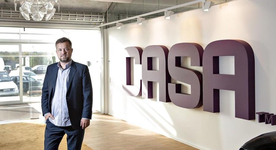 Serieiværksætter Michael Mortensen har solgt 60 procent af Casa, der opfører ejendomme og byggeri, til en kapitalfond. Han grundlagde sin første virksomhed, da han var 14 år gammel. 30 år senere kan han kalde sig milliardær.