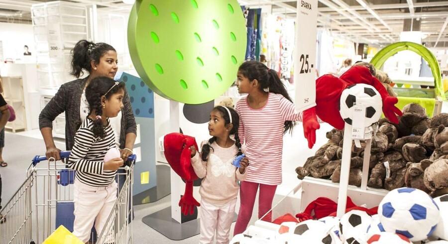ARKIVFOTO: Onsdag 11. juni 2014 slog IKEA dørene op til sit nye 31.500 kvadratmeter store varehus.