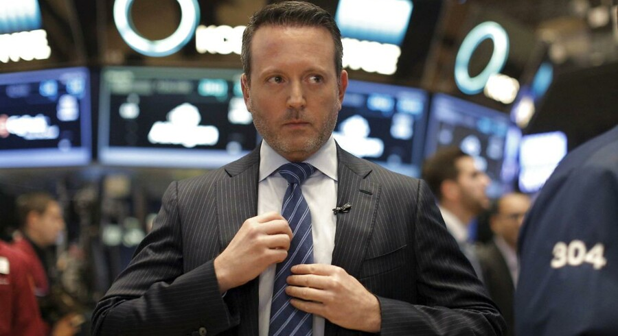 """Allergan-topchef Brenton Saunders føler sig """"taget med bukserne nede"""" af de nye regler, der har fået medicinalkolossen Pfizer til at opgive sit køb af selskabet."""